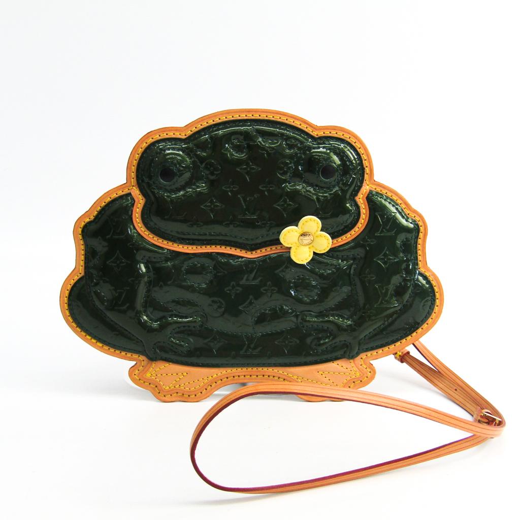 ルイヴィトン(Louis Vuitton) コント・ドゥ・フェ ポシェット・グラボ M92269 レディース ポシェット グリーン 【中古】
