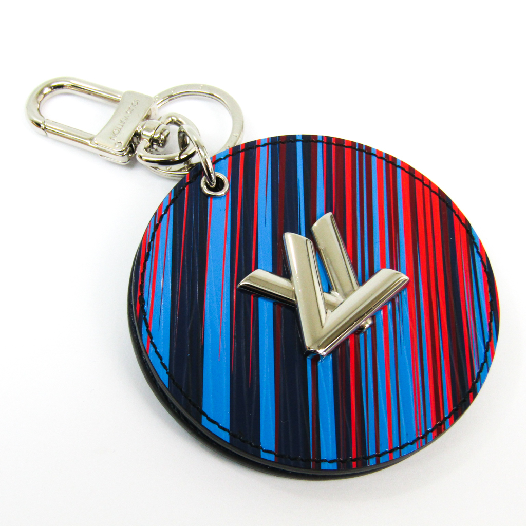 ルイヴィトン(Louis Vuitton) エピ キーホルダー (ブルー,ネイビー,レッド) バッグ チャーム・LV ミラー MP2024 【中古】