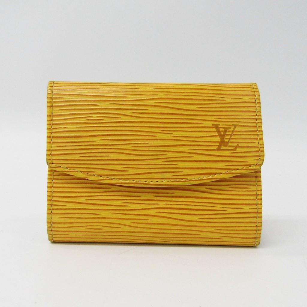 ルイヴィトン(Louis Vuitton) エピ ポルトモネサーンプル M63419 レディース エピレザー 小銭入れ・コインケース ジョーヌ 【中古】