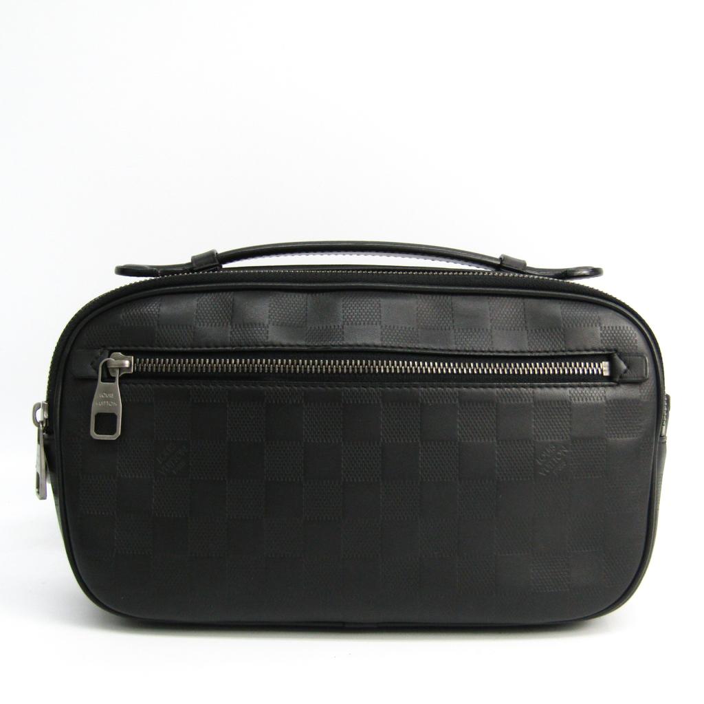ルイヴィトン(Louis Vuitton) ダミエアンフィニ アンブレール N41288 メンズ ウエストバッグ,ハンドバッグ オニキス 【中古】