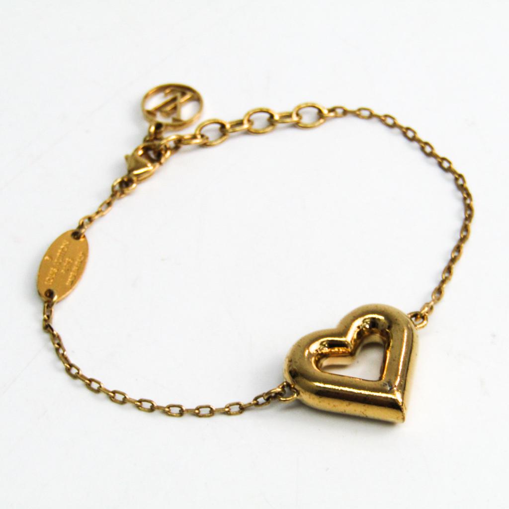 ルイ・ヴィトン(Louis Vuitton) メタル ブレスレット ゴールド LV&V M61143 【中古】
