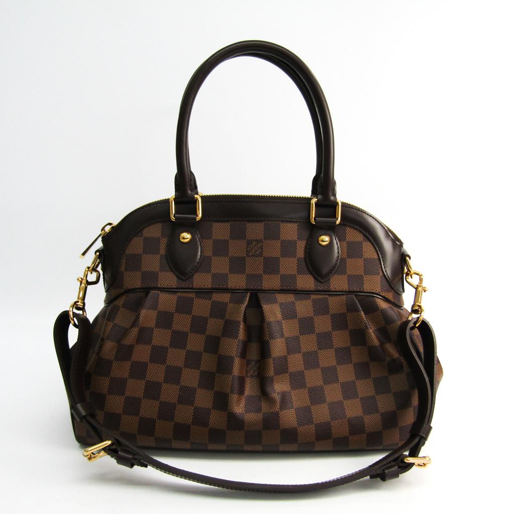 ルイヴィトン(Louis Vuitton) ダミエ トレヴィPM N51997 ショルダーバッグ エベヌ 【中古】