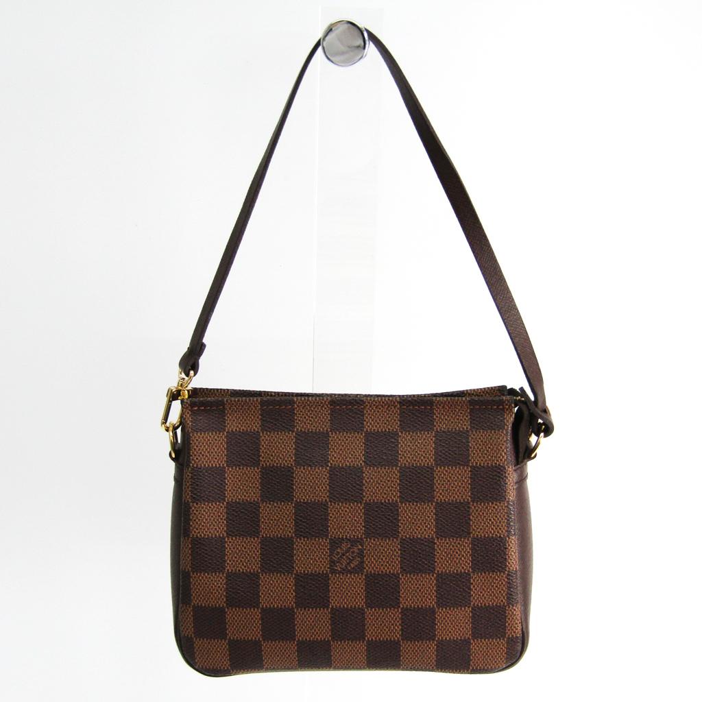 ルイヴィトン(Louis Vuitton) ダミエ トゥルース・メイクアップ N51982 ハンドバッグ エベヌ 【中古】