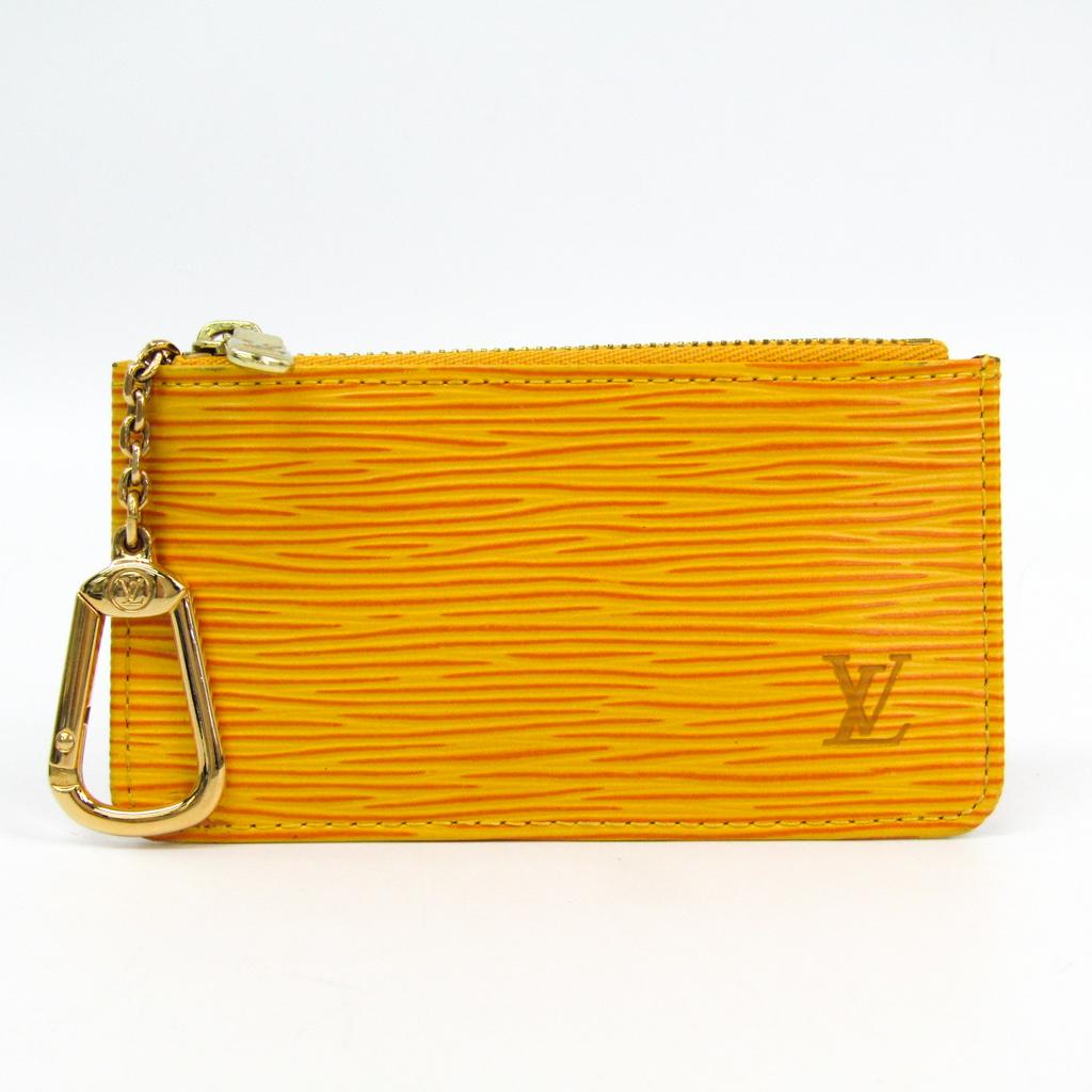 ルイ・ヴィトン(Louis Vuitton) エピ M63809 エピレザー 小銭入れ・コインケース ジョーヌ 【中古】