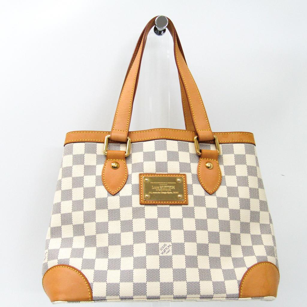 ルイ・ヴィトン(Louis Vuitton) ダミエ ハムプステッドPM N51207 ハンドバッグ アズール 【中古】