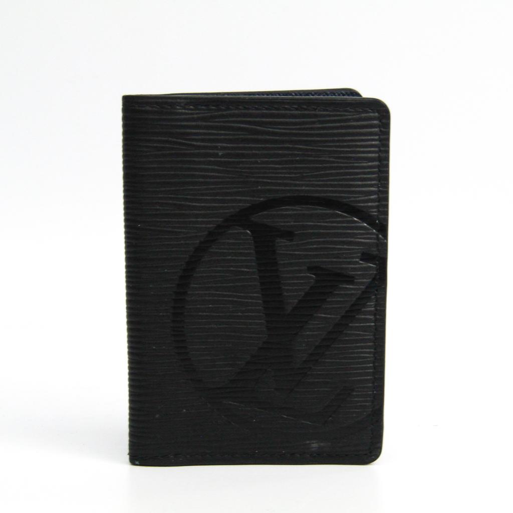 ルイ・ヴィトン(Louis Vuitton) エピ エピレザー カードケース ノワール LVサークル オーガナイザー ドゥ ポッシュ M61821 【中古】