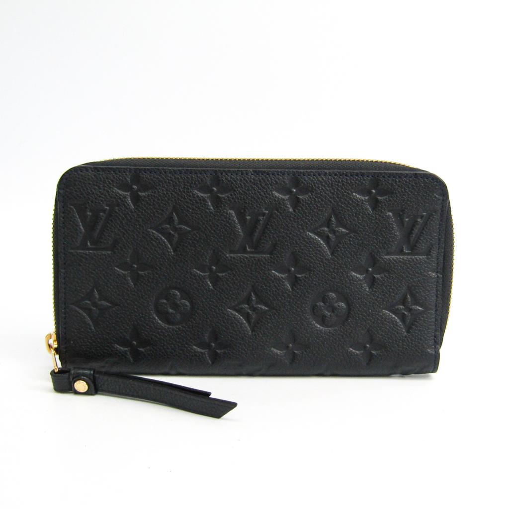 ルイ・ヴィトン(Louis Vuitton) モノグラムアンプラント ポルトフォイユ・スクレット ロン M93435 レディース モノグラムアンプラント 長財布(二つ折り) アンフィニ 【中古】