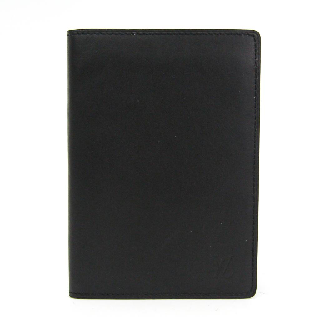 ルイ・ヴィトン(Louis Vuitton) ノマド ノマド パスポートケース ブラック クーヴェル テュール・パスポール M85018 【中古】