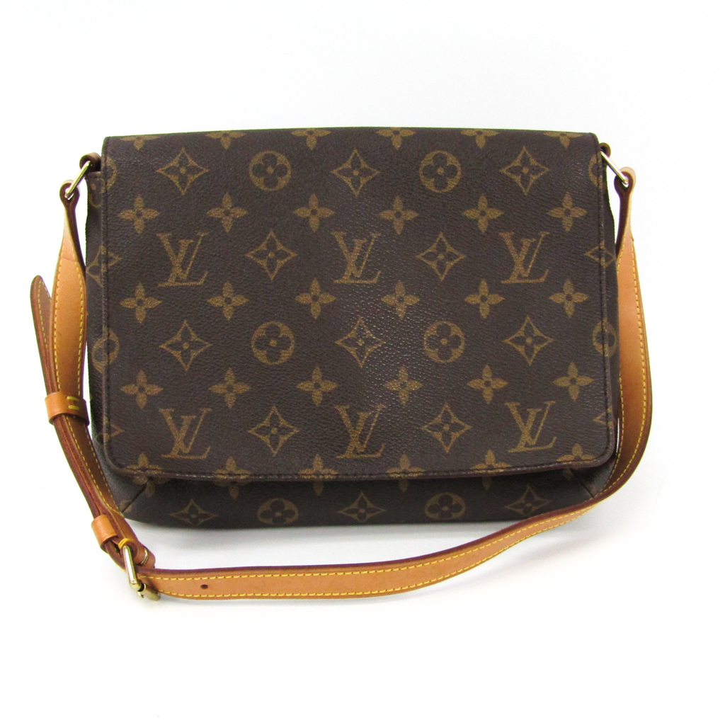 f3e7727a5b41 Louis Vuitton (Louis Vuitton) monogram musette tango short strap M51257 shoulder  bag monogram