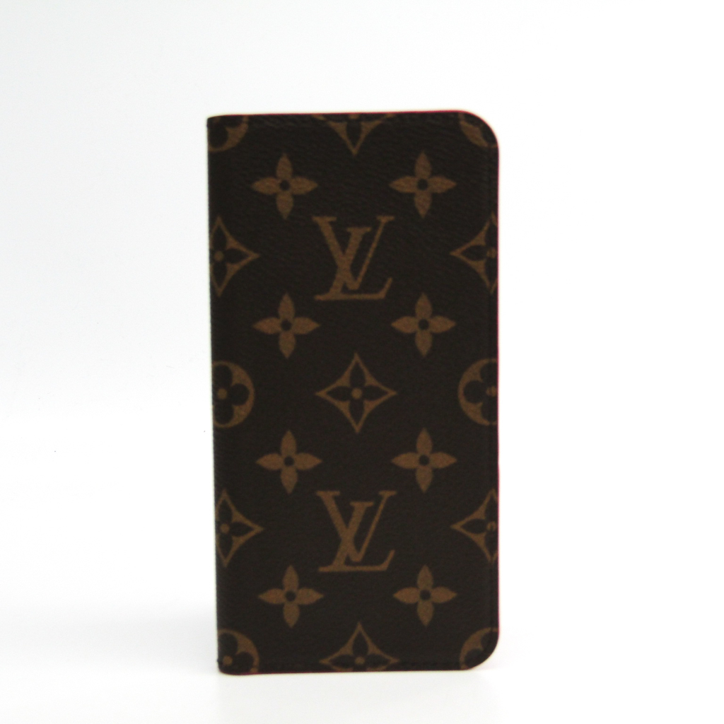 half off 1dbe6 b55a8 Case iPhone 8 Plus-adaptive Rose IPHONE7+ IPHONE8+, folio M63401 with the  Louis Vuitton (Louis Vuitton) monogram monogram notebook type / card case