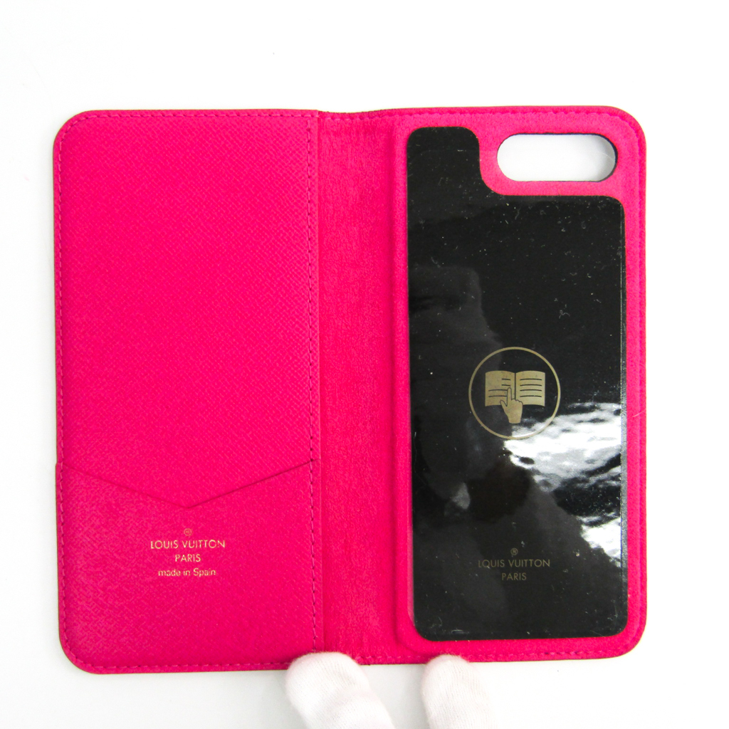 half off 026b2 f60a2 Case iPhone 8 Plus-adaptive Rose IPHONE7+ IPHONE8+, folio M63401 with the  Louis Vuitton (Louis Vuitton) monogram monogram notebook type / card case