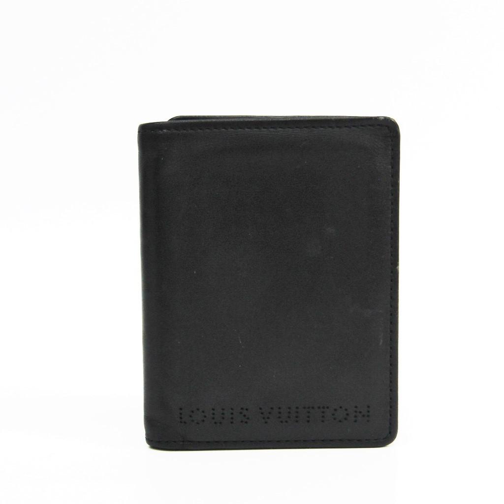 ルイ・ヴィトン(Louis Vuitton) トリフォルド シカゴ M95787 メンズ レザー 札入れ(三つ折り) ブラック 【中古】