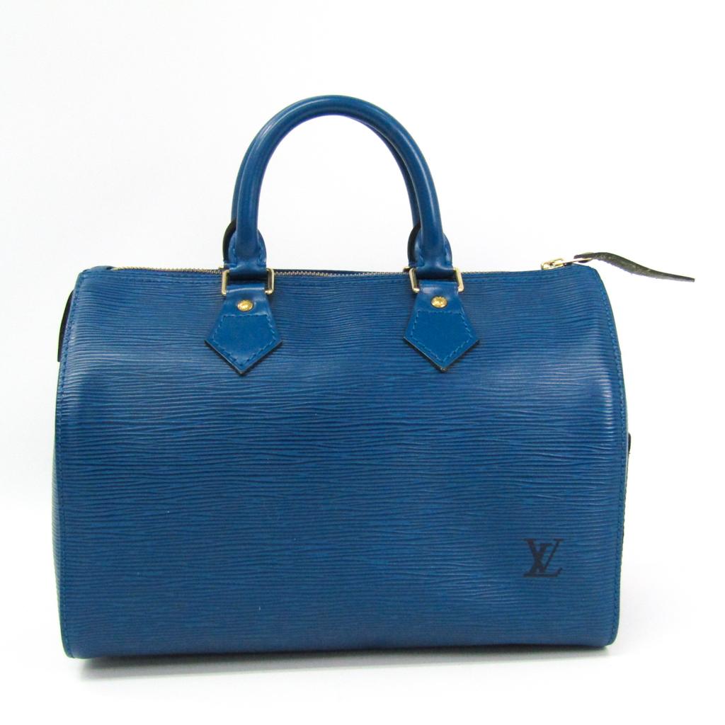ルイ・ヴィトン(Louis Vuitton) エピ スピーディ25 M43015 ハンドバッグ トレドブルー 【中古】