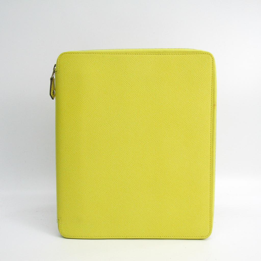 エルメス(Hermes) タブレット スタンド機能付きケース スフレ e-ZIP iPadケース 【中古】