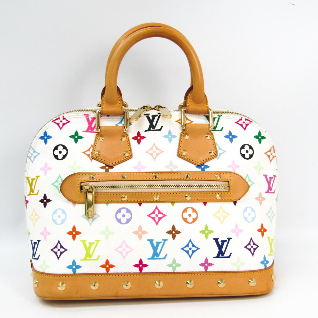 ルイ・ヴィトン(Louis Vuitton) モノグラムマルチカラー アルマ M92647 ハンドバッグ ブロン 【中古】