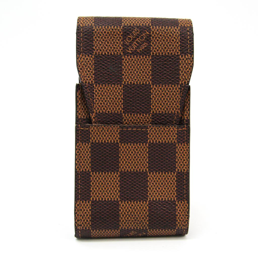 ルイ・ヴィトン(Louis Vuitton) Vuitton) ダミエ タバコケース N63024 ダミエキャンバス エベヌ エテュイ ダミエ・シガレット N63024【中古】, イオウジマチョウ:eb571889 --- officewill.xsrv.jp