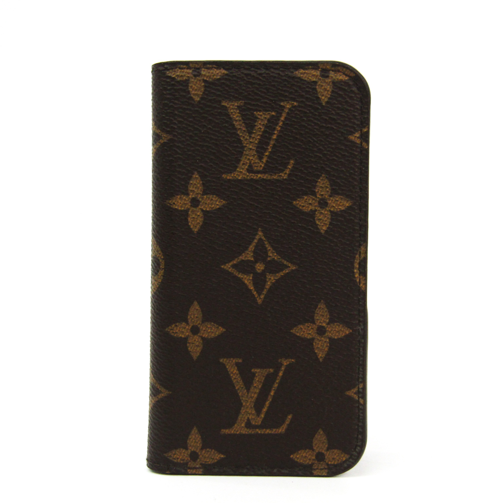 san francisco 91a64 8dd4b Case iPhone 5c-adaptive monogram IPHONE5 SE, folio M61900 with the Louis  Vuitton (Louis Vuitton) monogram monogram notebook type / card case