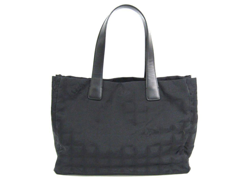 【中古】 シャネル(Chanel) ニュートラベルライン A15991 レディース トートバッグ ブラック