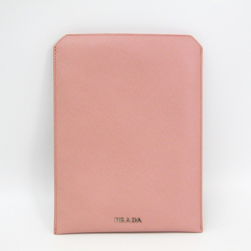 プラダ(Prada) ケース iPad Mini 対応 ライトピンク 2ARI08 【中古】