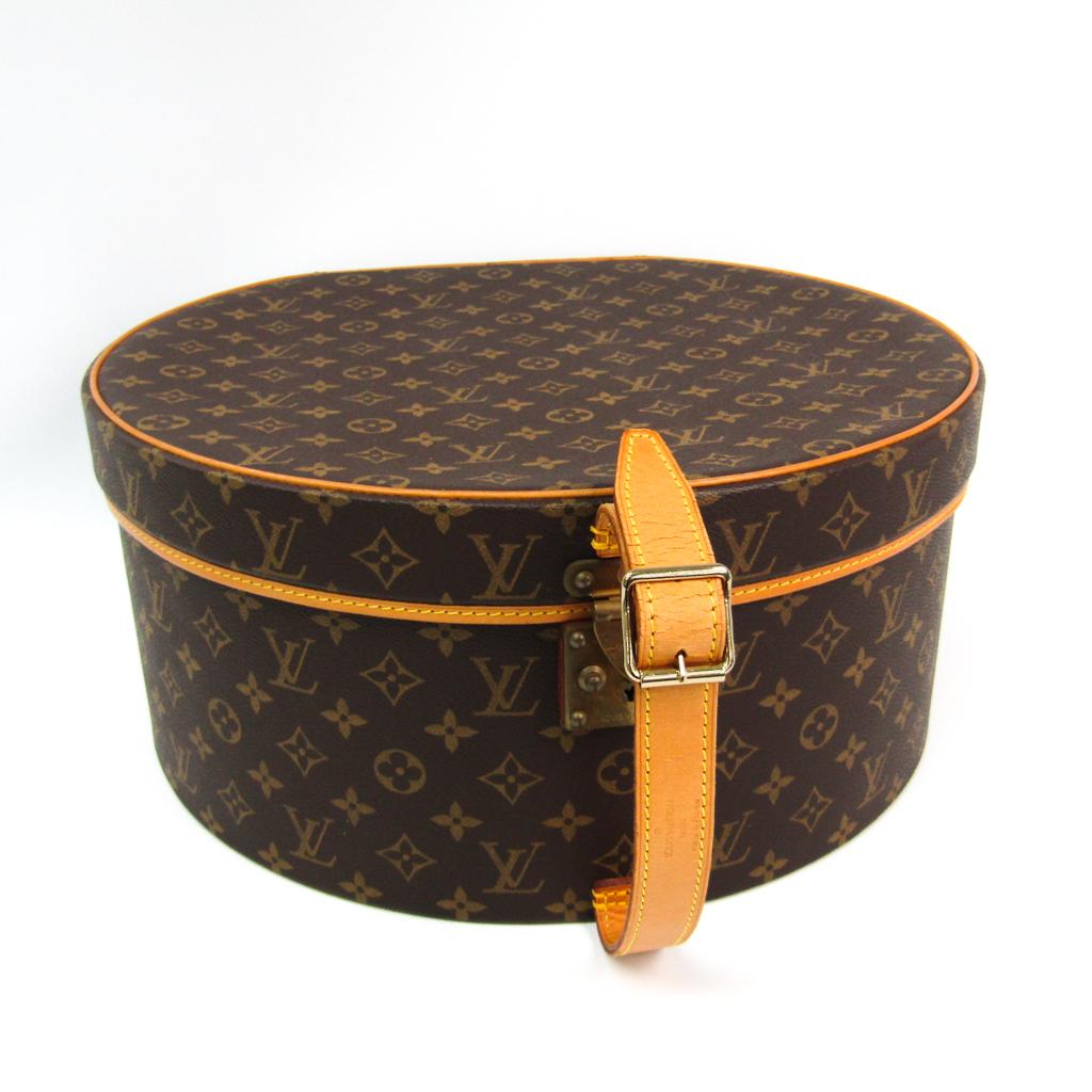 ルイ・ヴィトン(Louis Vuitton) モノグラム ボワットシャポー 帽子入れ M23624 ハンドバッグ モノグラム 【中古】