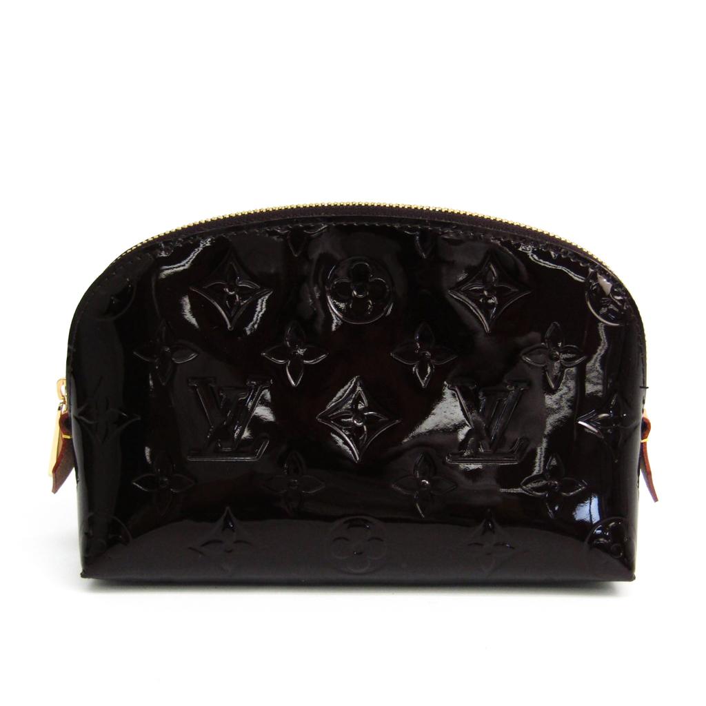 ルイ・ヴィトン(Louis Vuitton) モノグラムヴェルニ ポシェット・コスメティック M91495 レディース ポーチ アマラント 【中古】