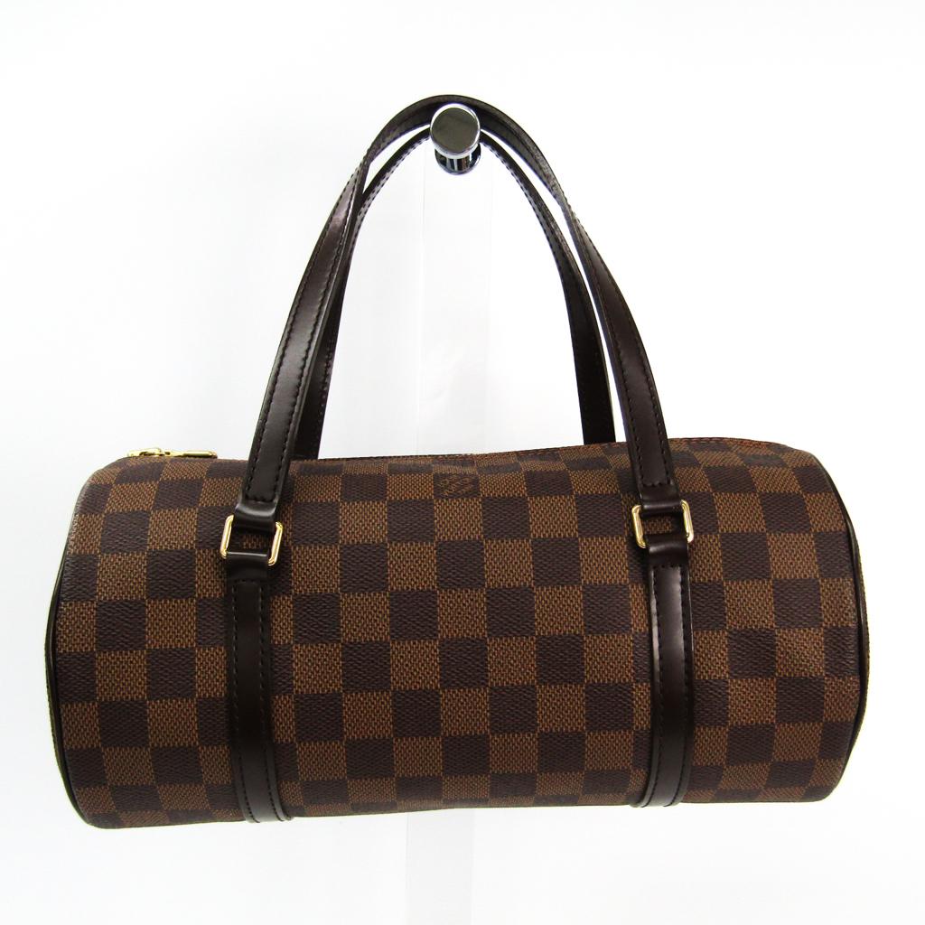 ルイ・ヴィトン(Louis Vuitton) ダミエ パピヨン26 N51304 ハンドバッグ エベヌ 【中古】