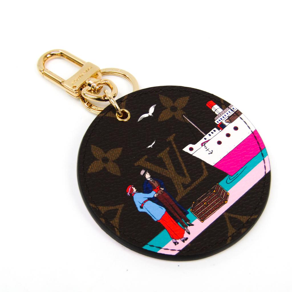 ルイ・ヴィトン(Louis Vuitton) モノグラム キーホルダー (モノグラム,ピンク) イリュストレ エヴァジオン M61932 【中古】