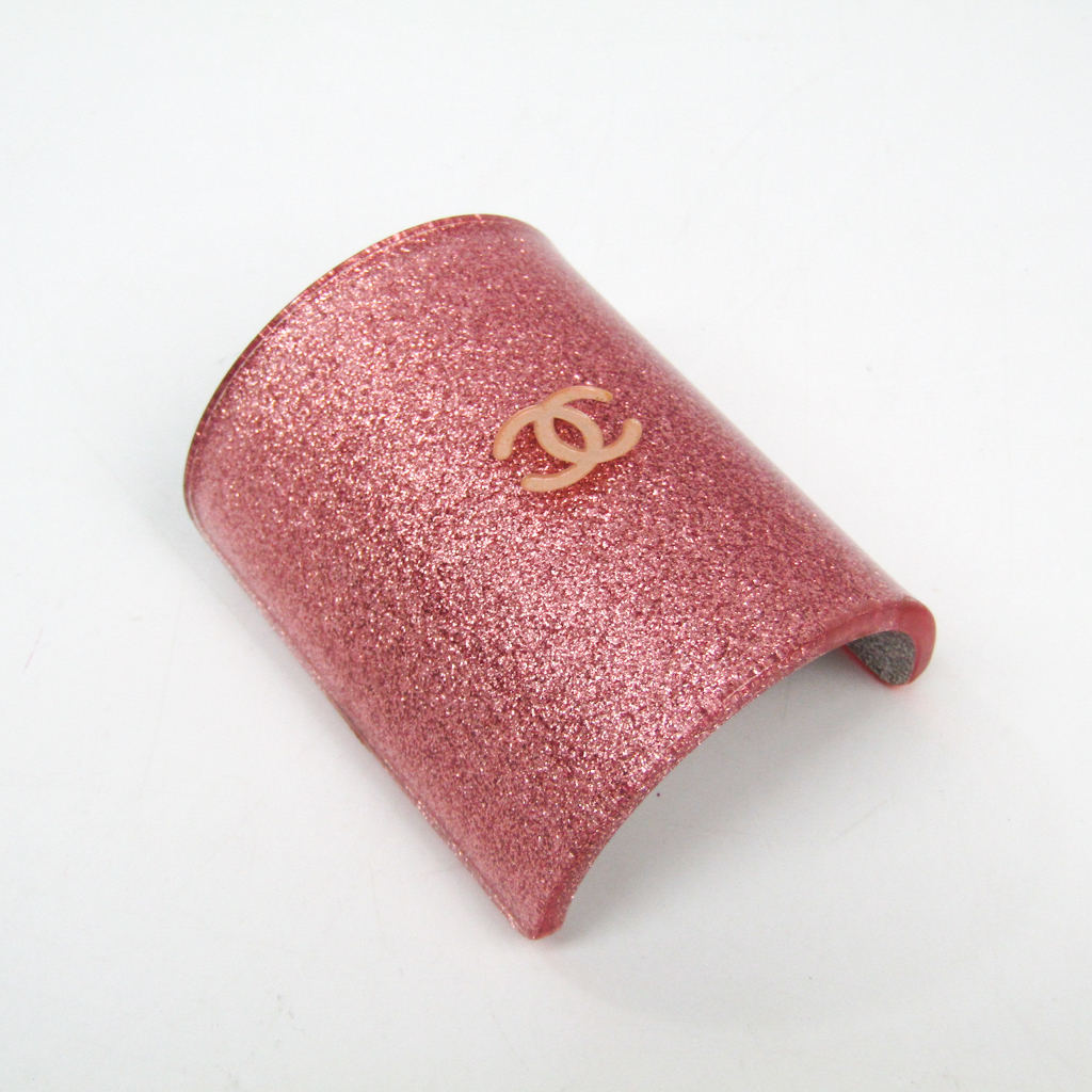 シャネル(Chanel) ココ プラスチック レディース バレッタ ピンク 【中古】