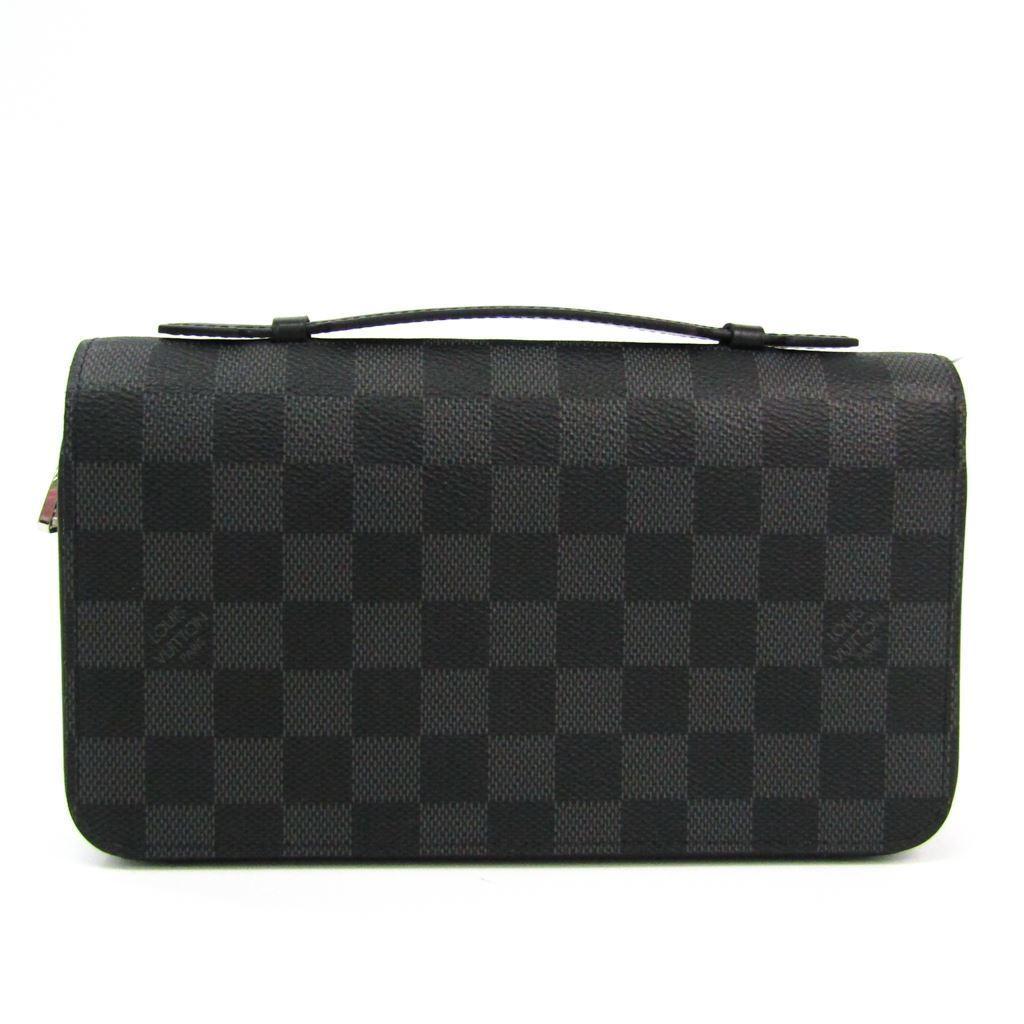 ルイ・ヴィトン(Louis Vuitton) ダミエ・グラフィット ジッピーXL N41503 メンズ ダミエグラフィット 長財布(二つ折り) 【中古】