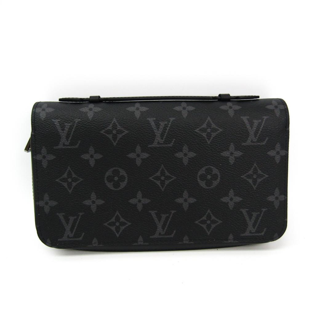 ルイ・ヴィトン(Louis Vuitton) モノグラム・エクリプス ジッピーXL M61698 メンズ モノグラムエクリプス 長財布(二つ折り) 【中古】