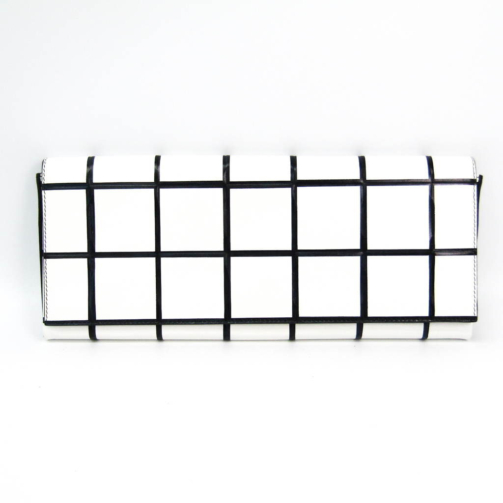 バレンシアガ(Balenciaga) 277938 レディース レザー クラッチバッグ ブラック,ホワイト 【中古】