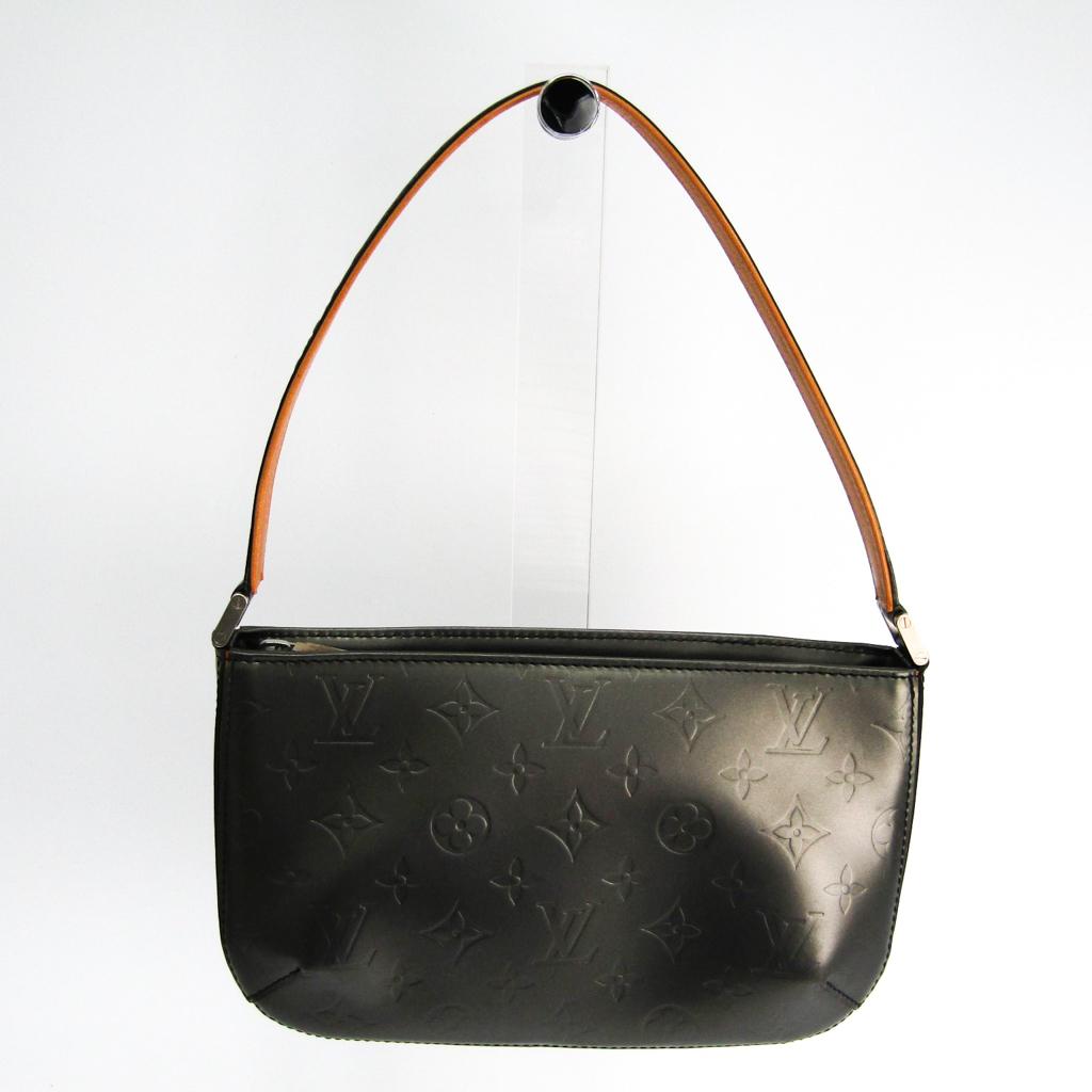 ルイ・ヴィトン(Louis Vuitton) モノグラムマット ファウラー M55142 ハンドバッグ ノワール 【中古】