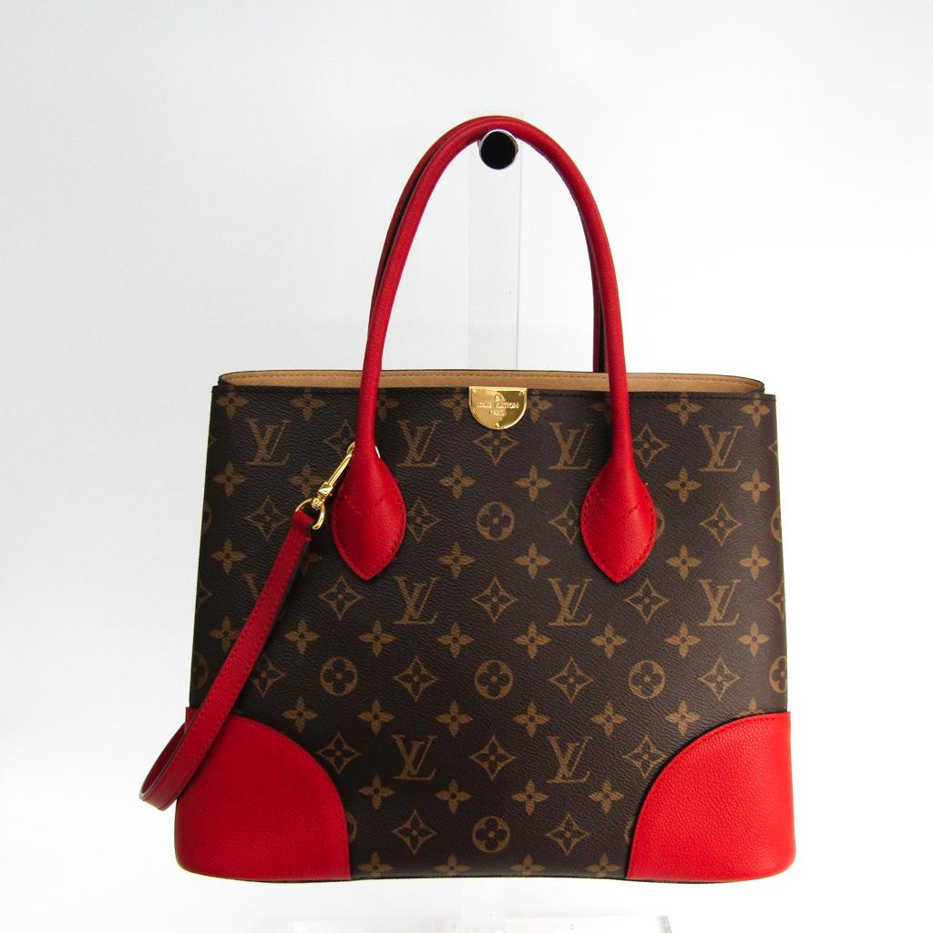 ルイ・ヴィトン(Louis Vuitton) モノグラム フランドリン M41596 レディース ハンドバッグ モノグラム,レッド 【中古】