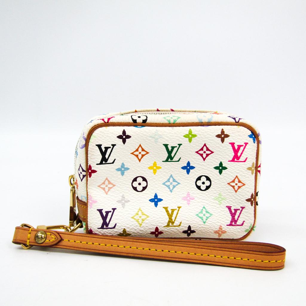 ルイ・ヴィトン(Louis Vuitton) モノグラムマルチカラー トゥルース・ワピティ M58033 ポーチ ブロン 【中古】