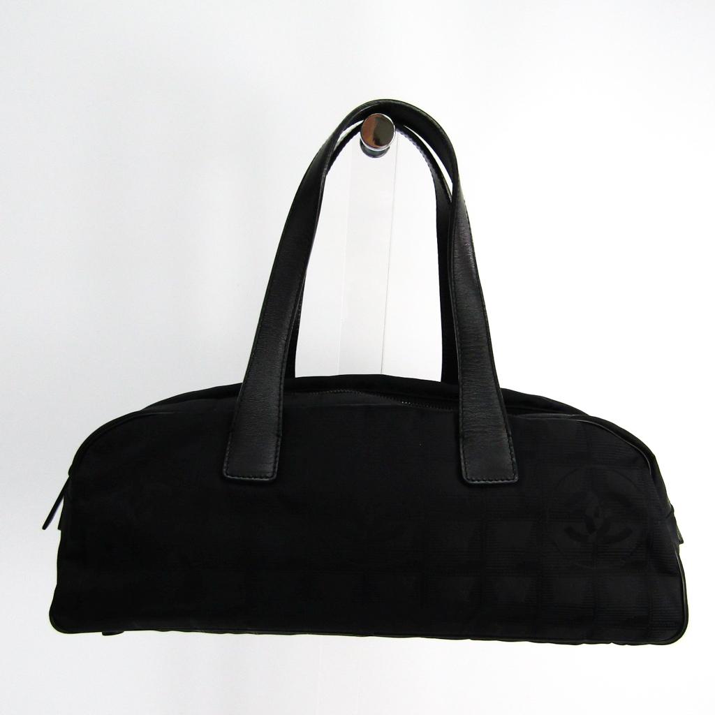 シャネル(Chanel) ニュートラベルライン ミニ A15828 レディース ニュートラベルライン ハンドバッグ ブラック 【中古】