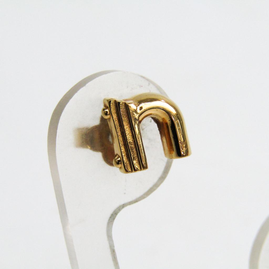 ルイ・ヴィトン(Louis Vuitton) メタル イヤリング ゴールド LV&ME N M61520 【中古】