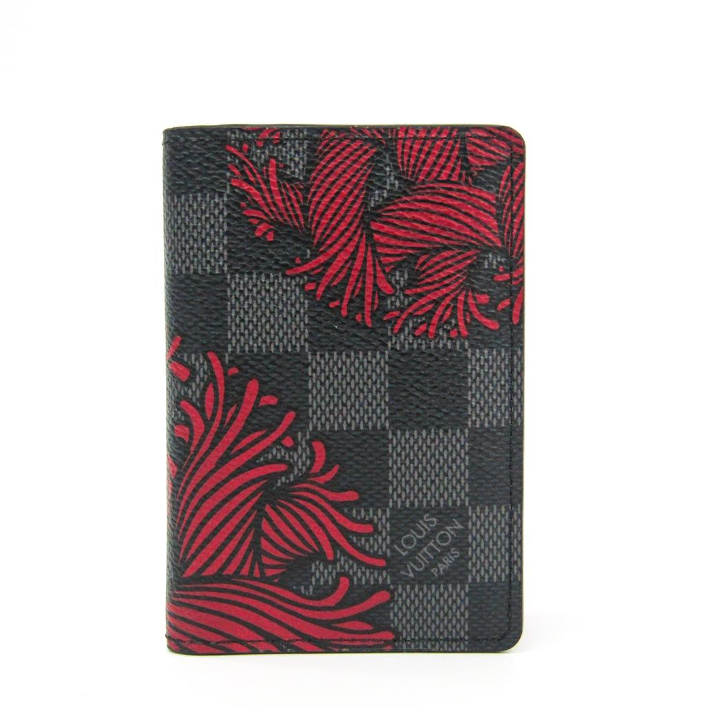 ルイ・ヴィトン(Louis Vuitton) ダミエグラフィット ダミエグラフィット カードケース ダミエ・グラフィット オーガナイザードゥポッシュ N41680 【中古】