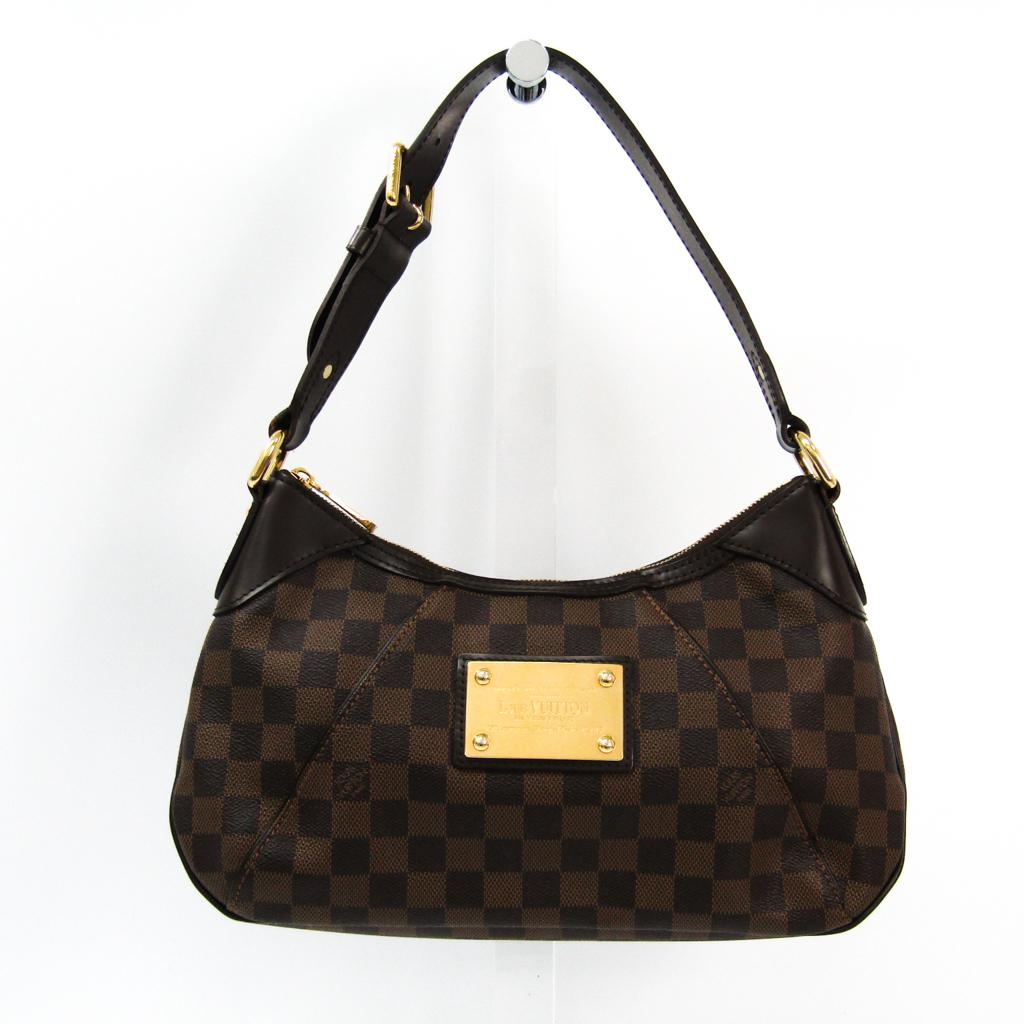 ルイ・ヴィトン(Louis Vuitton) ダミエ テムズPM N48180 ショルダーバッグ エベヌ 【中古】