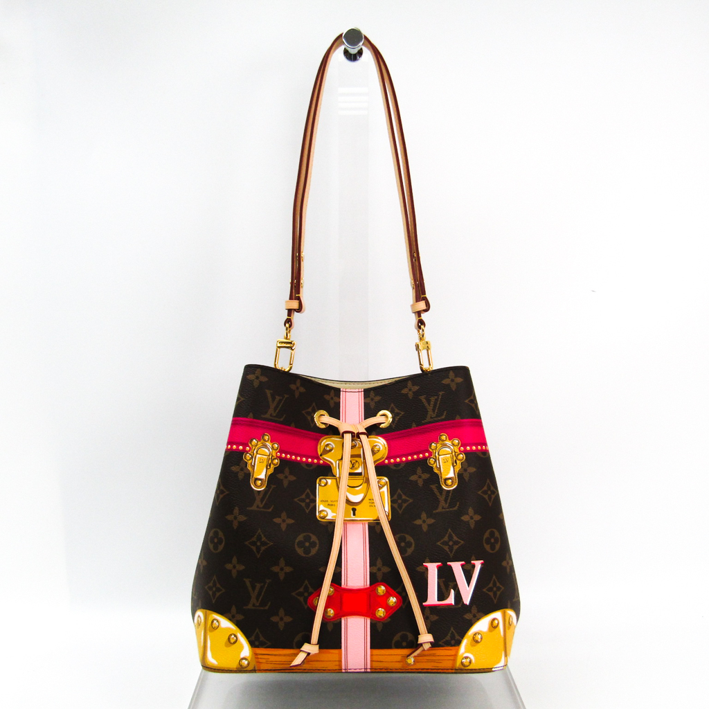 ルイ・ヴィトン(Louis Vuitton) モノグラム ネオノエ M40649 レディース ショルダーバッグ モノグラム,ピンク 【中古】