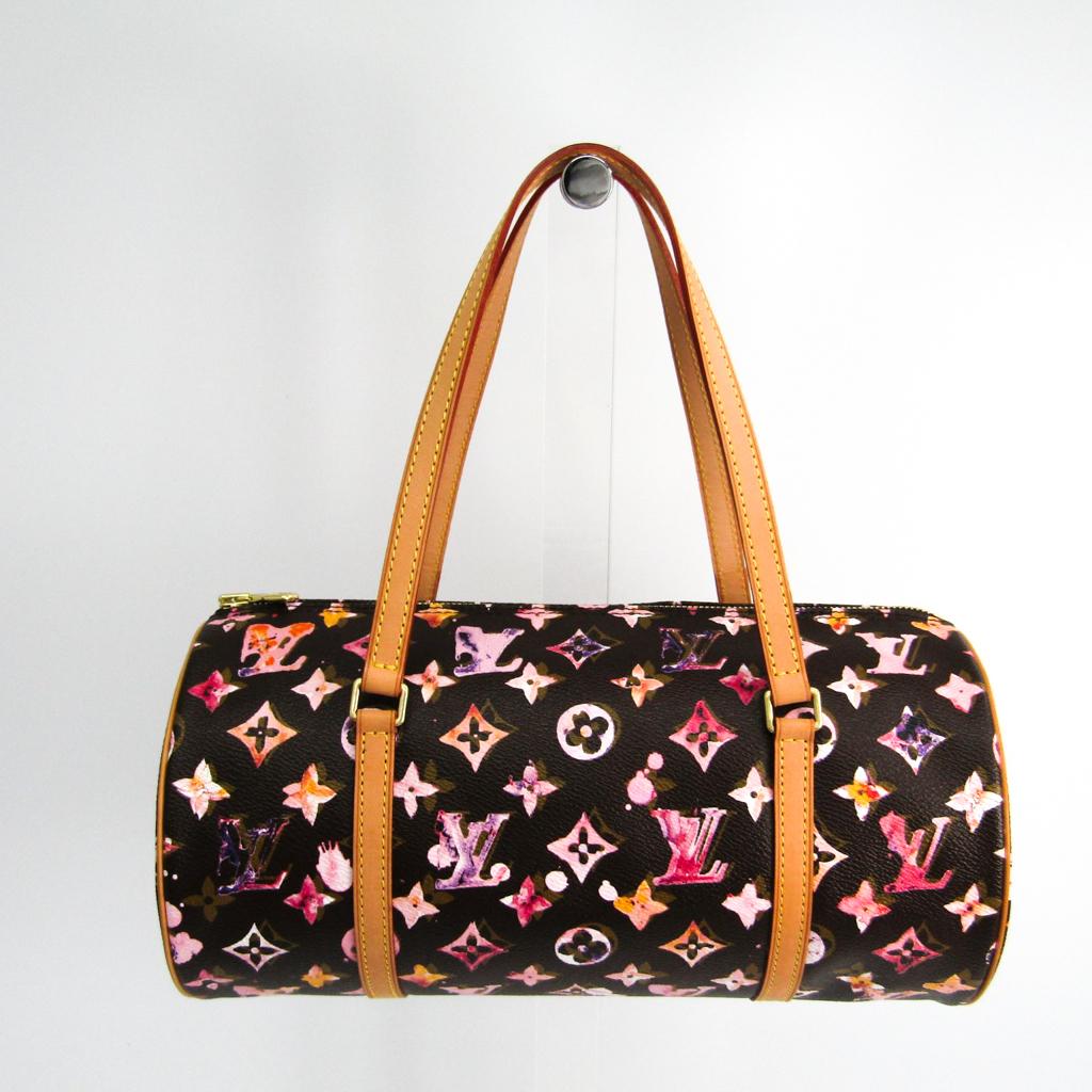 ルイ・ヴィトン(Louis Vuitton) モノグラム・ウォーターカラー パピヨン30 M95753 レディース ハンドバッグ マロン 【中古】