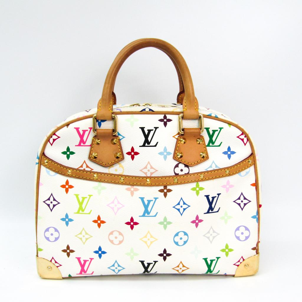 ルイ・ヴィトン(Louis Vuitton) モノグラムマルチカラー トゥルーヴィル M92663 レディース ハンドバッグ ブロン 【中古】
