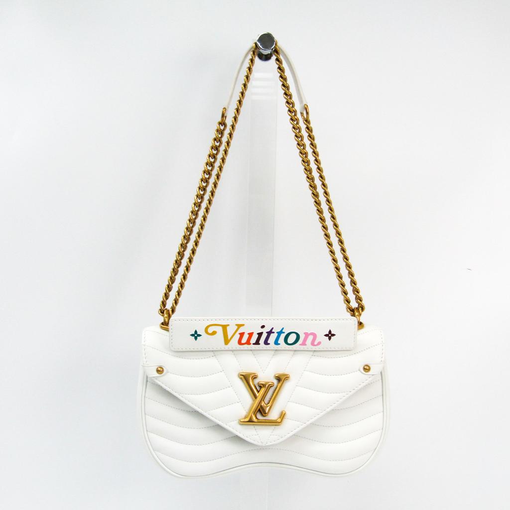 お待たせ! ルイ・ヴィトン(Louis Vuitton) ニューウェーブ チェーンバッグ ホワイト MM Vuitton) M51945 MM レディース ショルダーバッグ ホワイト【】, シルバーアクセサリーROSEROSES:40105f2a --- spotlightonasia.com