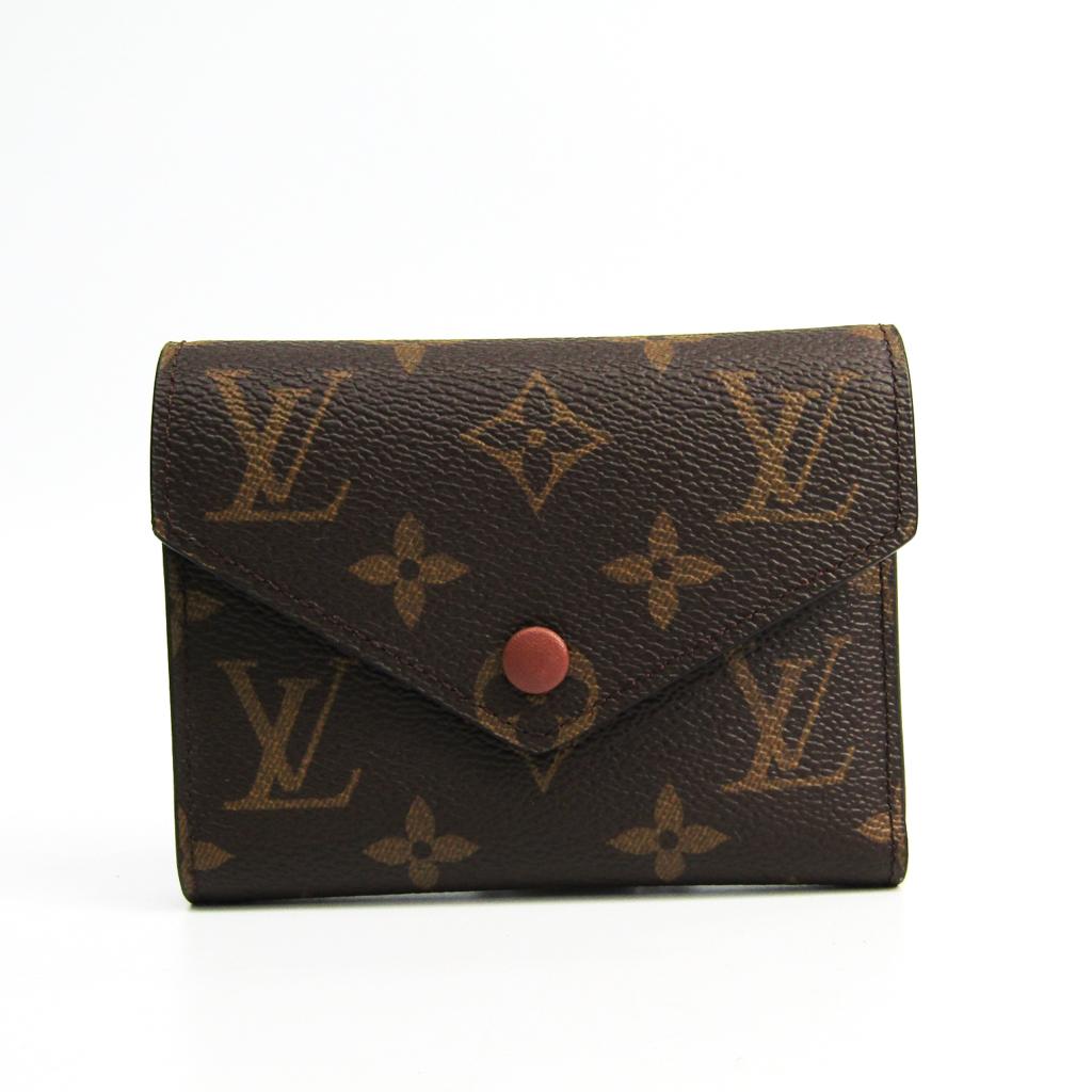 ルイ・ヴィトン(Louis Vuitton) モノグラム ポルトフォイユ・ヴィクトリーヌ M62472 レディース モノグラム 財布(三つ折り) モノグラム 【中古】