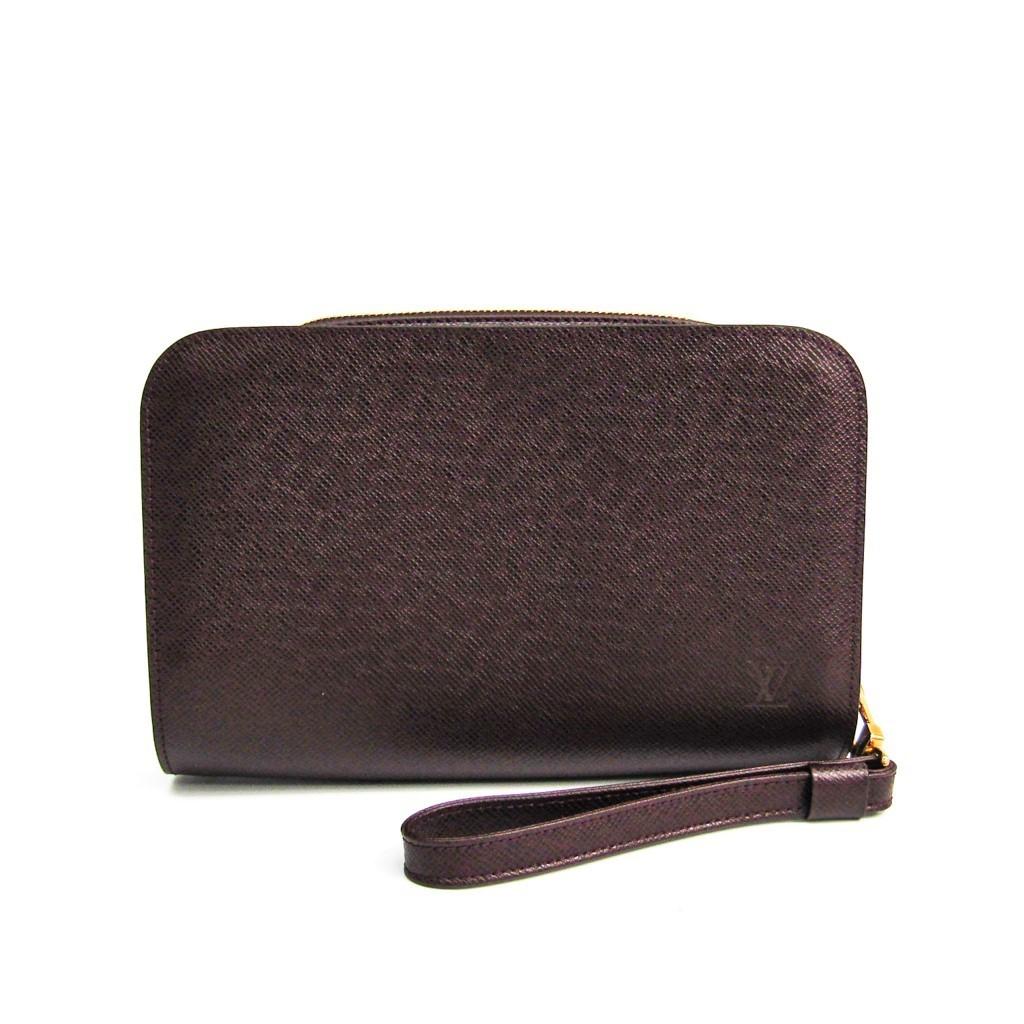ルイ・ヴィトン(Louis Vuitton) タイガ バイカル M30186 メンズ クラッチバッグ アカジュー 【中古】