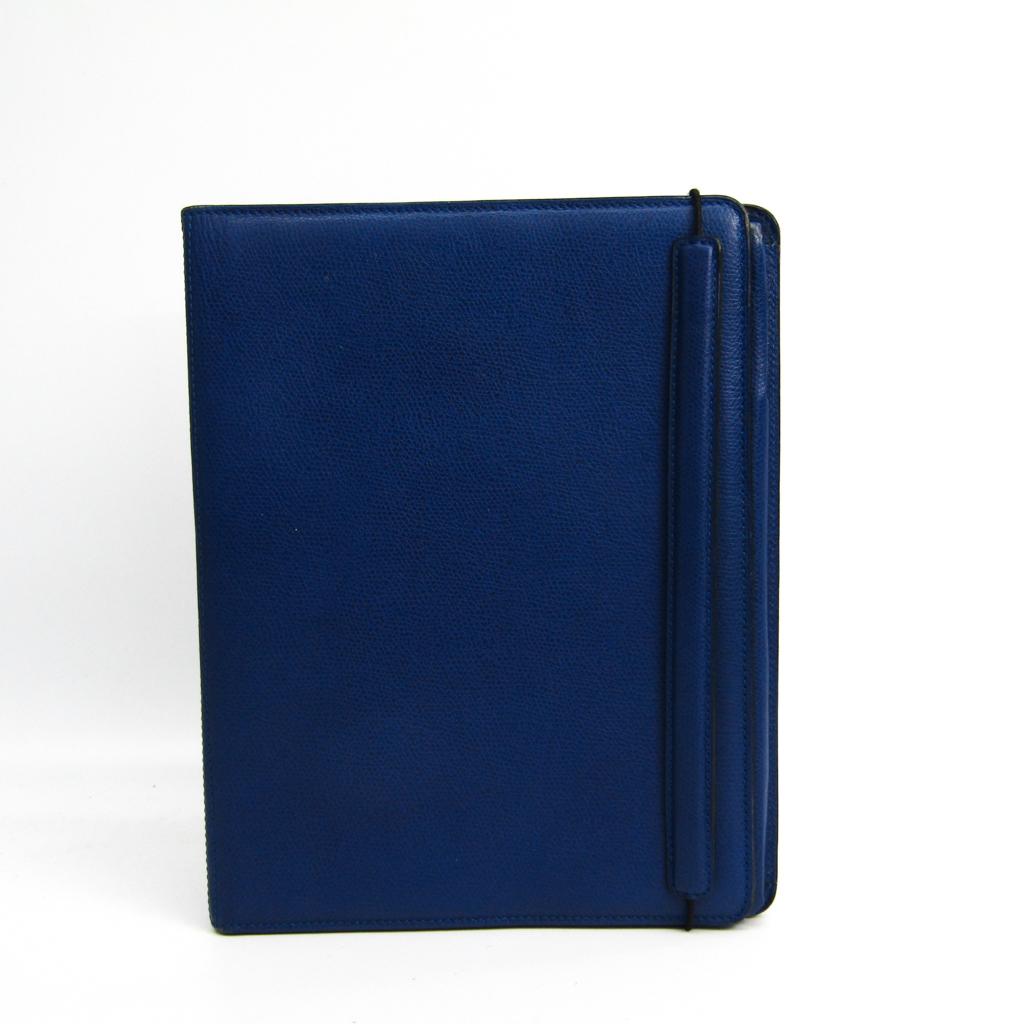 ヴァレクストラ(Valextra) ケース iPad 対応 ブルー 9.7インチモデル 【中古】