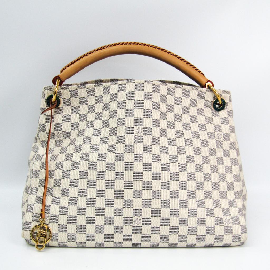 ルイ・ヴィトン(Louis Vuitton) ダミエ アーツィーMM N41174 ショルダーバッグ アズール 【中古】