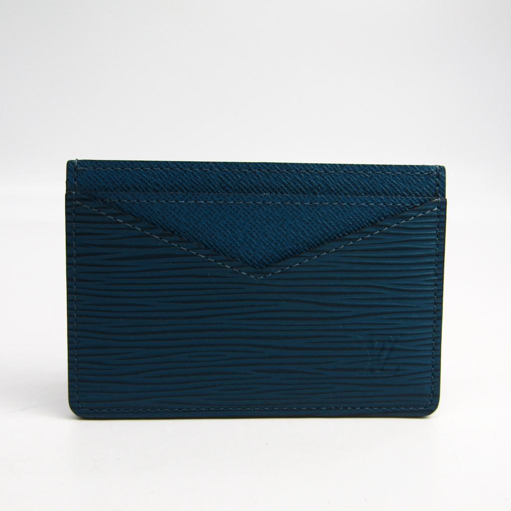 ルイ・ヴィトン(Louis Vuitton) エピ ネオ・ポルト カルト M67211 エピレザー カードケース ブルーセレスト 【中古】
