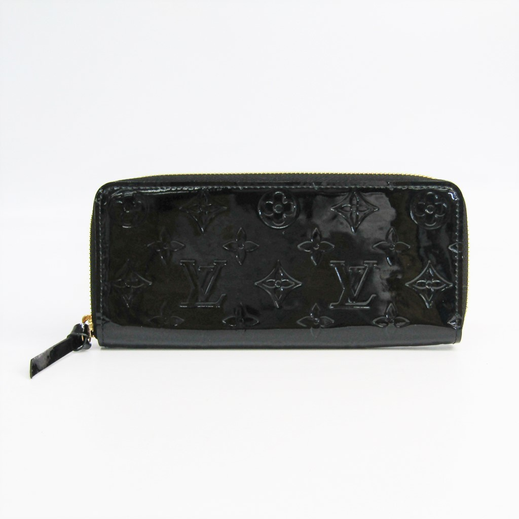 ルイ・ヴィトン(Louis Vuitton) ヴェルニ ポルトフォイユ・クレマンス M90920 レディース ヴェルニ 長財布(二つ折り) ノワール 【中古】