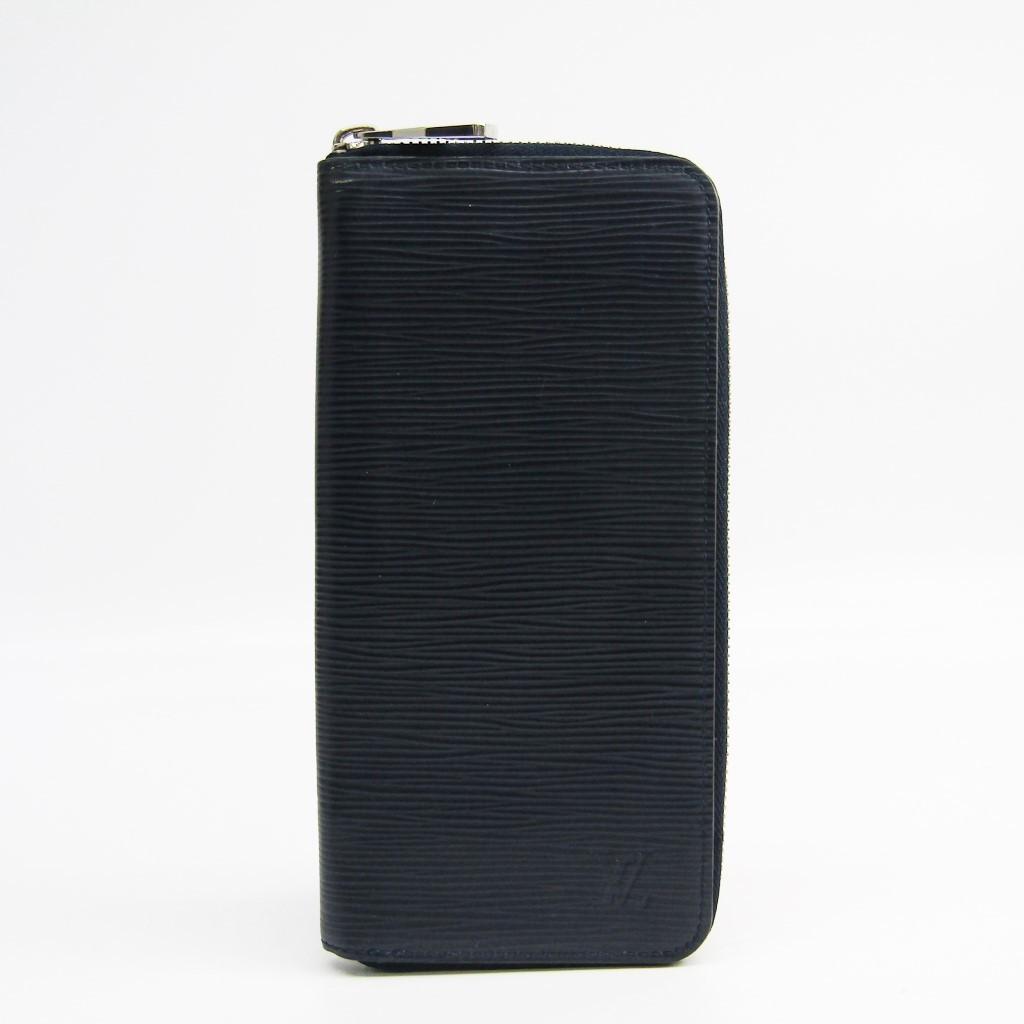 ルイ・ヴィトン(Louis Vuitton) エピ ジッピーウォレット ヴェルティカル M61828 メンズ エピレザー 長財布(二つ折り) ブルーマリーヌ 【中古】