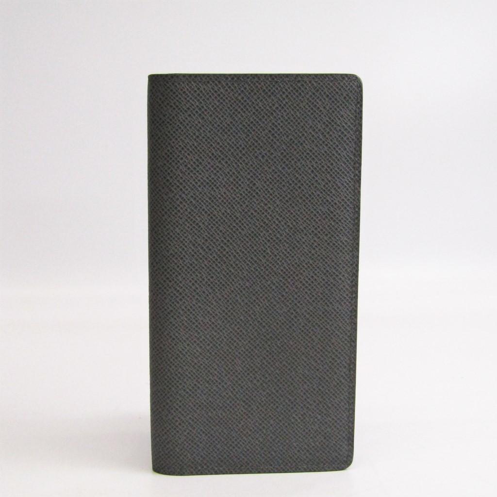 ルイ・ヴィトン(Louis Vuitton) タイガ M33401 メンズ タイガ 長札入れ(二つ折り) グラシエ 【中古】